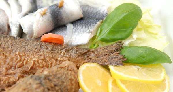 Eingelegter Fisch